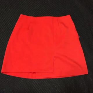 スライ(SLY)のSLY  赤スカート(ミニスカート)
