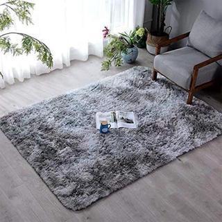 ラグ洗える カーペット ラグマット 約 120×160cm (セミシングルベッド)
