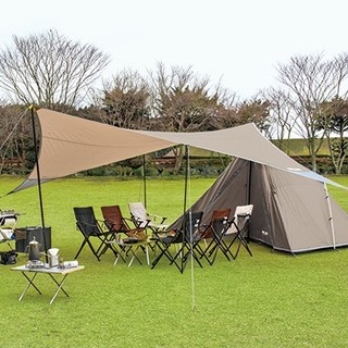 ユニフレーム(UNIFLAME)のREVOタープL キャンプ アウトドア フェス テント コールマン バーベキュー(テント/タープ)