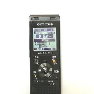 オリンパス(OLYMPUS)のVoice-Trek V843 ICレコーダー(ポータブルプレーヤー)