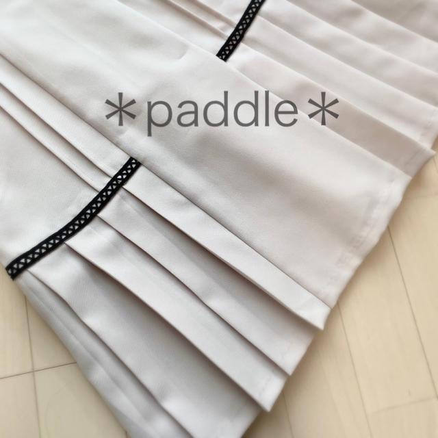 Rirandture(リランドチュール)のリランドチュール バイカラーシフォン袖切替プリーツワンピース レディースのワンピース(ひざ丈ワンピース)の商品写真