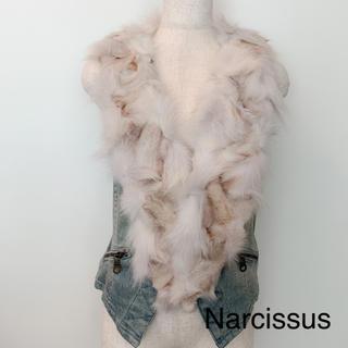 ナルシス(Narcissus)のナルシス デニムファーベスト(ベスト/ジレ)