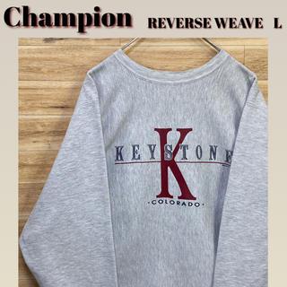 Champion - 【希少】チャンピオン L  90s トリコタグ REVERSE WEAVE
