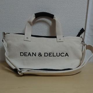 DEAN & DELUCA - 【新品未使用】ディーン&デルーカ  ショルダー付きキャンバストートバッグSサイズ