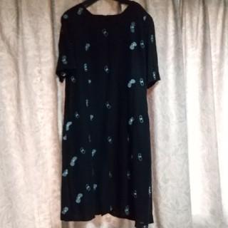 ミナペルホネン(mina perhonen)のミナペルホネン ハンドメイド蝶々ドレス(ひざ丈ワンピース)