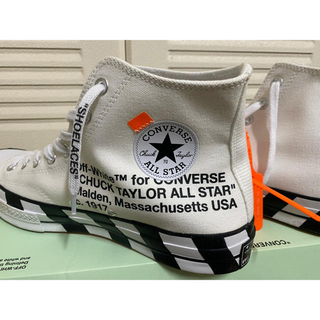 OFF-WHITE - converse chuck taylor70s Hi off-white