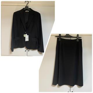 【未使用】セロリー ジャケット Aラインスカート セット 11号 ブラック