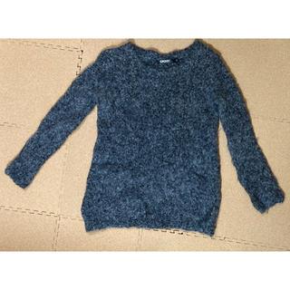 ダナキャランニューヨーク(DKNY)のDKNY ウール&アルパカ 長袖セーター マーブルカラー(ニット/セーター)