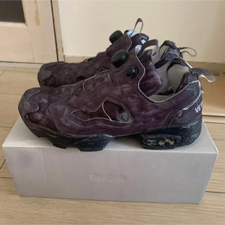 Balenciaga - vetements reebok insta pump fury