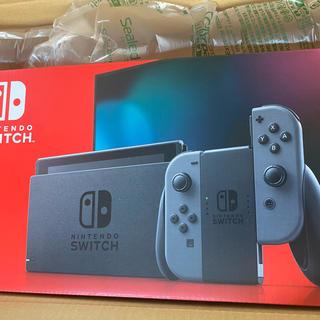 Nintendo Switch - 新品 ニンテンドースイッチ グレー スイッチ 本体
