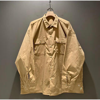 BEAMS - ssz AH work shirt   ベージュ
