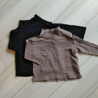 MUJI (無印良品) - 無印良品MUJI★長袖2枚セット80 双子