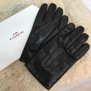 コーチ(COACH)の☆美品☆コーチ レザー グローブ 手袋(手袋)
