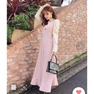 リエンダ(rienda)の♡Melody ♡様専用❤️rienda❤️フレアヘムサスペンダーワイドパンツ(オールインワン)