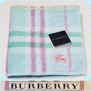 BURBERRY - BURBERRYタオルハンカチ♯.③