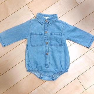 デニムロンパース  インポート 海外子供服 韓国子供服