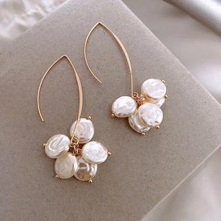 【みぎかたあがり様 専用】新品 ピアス 帯締め2本セット 人気 真珠(ピアス)