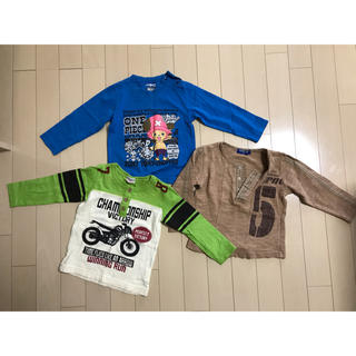 ロデオ(RODEO)の長袖ロンT 男の子 95 セット まとめ売り(Tシャツ/カットソー)