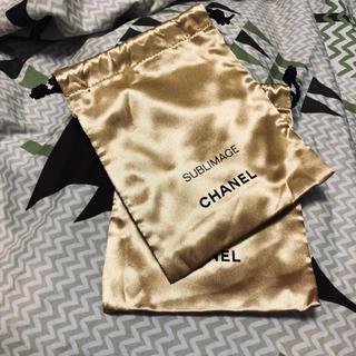 CHANEL - シャネル ノベルティ サブリマージュ 巾着
