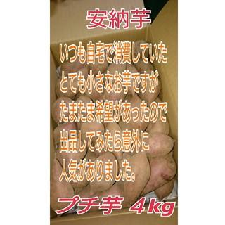 種子島産安納芋(安納紅)プチ芋4キロとても小さなお芋です。(野菜)