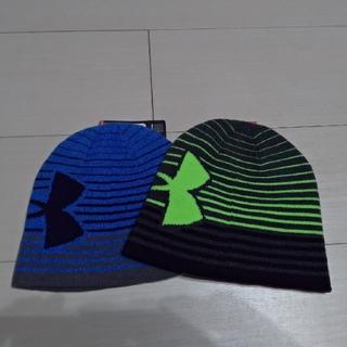 アンダーアーマー(UNDER ARMOUR)のアンダーアーマー ジュニア用 ニット帽 ビーニー(帽子)