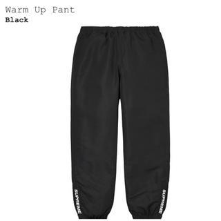 Supreme - supreme Warm Up Pant m BLACK 2020AW