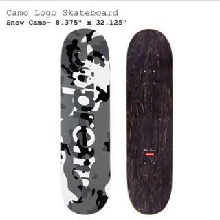 Supreme - Supreme Camo Logo Skateboard シュプリーム  デッキ