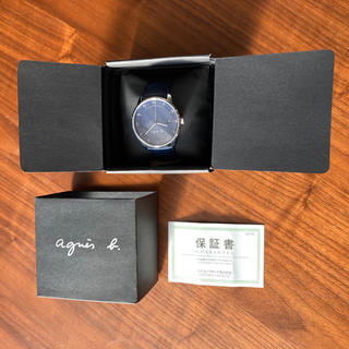 アニエスベー(agnes b.)の【アニエスベー】agnès b. HOMME 腕時計 (腕時計(アナログ))