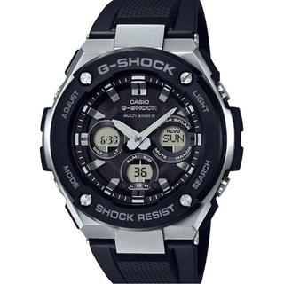 ジーショック(G-SHOCK)の【新品未開封】カシオ G-SHOCK 電波ソーラー GST-W300-1AJF(腕時計(デジタル))