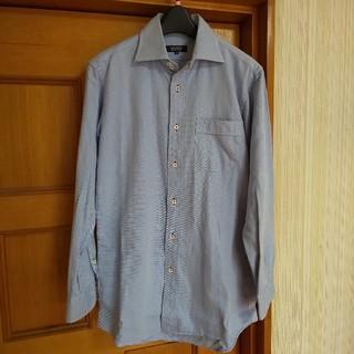 バーバリーブラックレーベル(BURBERRY BLACK LABEL)のBURBERRY BLACK LABEL バーバリー シャツ 38 水色(シャツ)