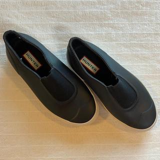 ハンター(HUNTER)のHUNTER ハンター レインシューズ 黒(レインブーツ/長靴)