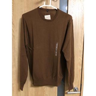 ムジルシリョウヒン(MUJI (無印良品))の薄手セーター 無印良品 メンズ(ニット/セーター)