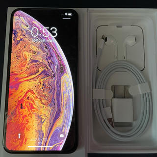 Apple - Apple iPhone Xs max 512GB ゴールド SIMフリー
