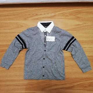 コムサイズム(COMME CA ISM)の【新品】コムサイズム シャツ 120cm(Tシャツ/カットソー)