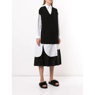 ENFOLD - Enfold colour-block oversized shirt