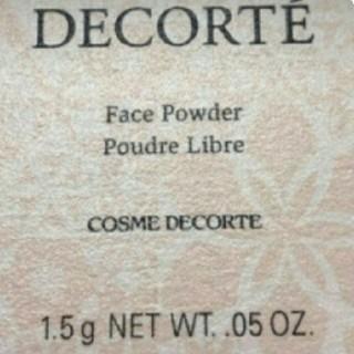 コスメデコルテ(COSME DECORTE)のCOSME DECORTE ミニフェイスパウダー80(フェイスパウダー)