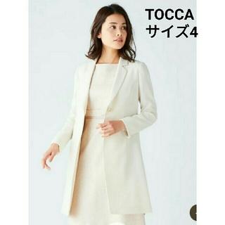 トッカ(TOCCA)のTOCCAトッカ 2019SS洗えるmintジャケット L ベージュ 日本製(テーラードジャケット)