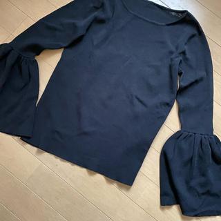GRACE CONTINENTAL - グレースコンチネンタル新品タグ付ベルスリーブカットソー黒