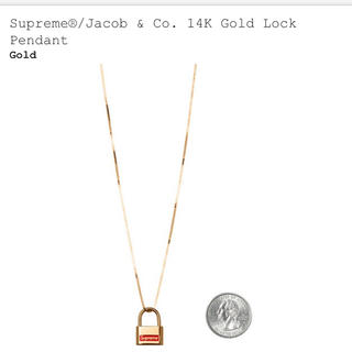 Supreme - Supreme®/Jacob & Co. 14K Gold Lock