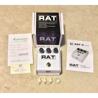 ボス(BOSS)のPro-co RAT 2 WHITE イケベ楽器 40周年記念モデル ほぼ新品(エフェクター)