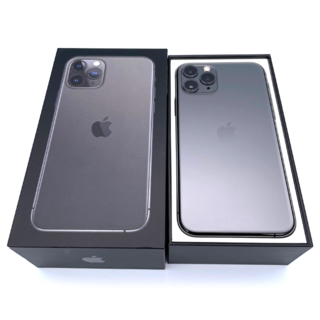 iPhone - 【美品】iPhone11Pro 64GB SIMロック解除済み スペースグレイ