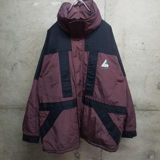 アシックス(asics)の90s asics / アシックス 中綿 ナイロンジャケット L 好配色(ナイロンジャケット)