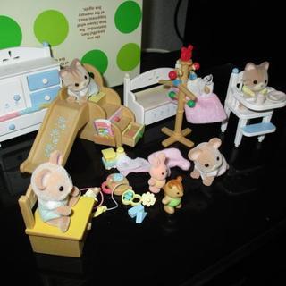 EPOCH - シルバニアファミリー赤ちゃんと家具セット