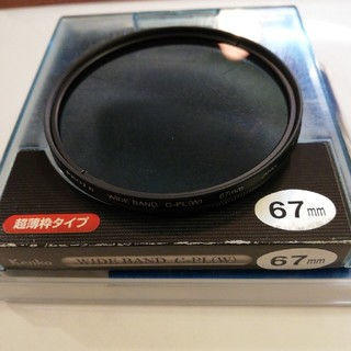 ケンコー(Kenko)のC-PLフィルター ワイド67mm(フィルター)