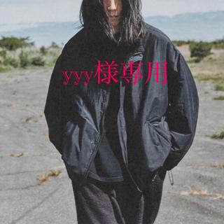 コモリ(COMOLI)のyyy様専用 comoli ナイロンショートジャケット 貴重なサイズ3 新品(ナイロンジャケット)