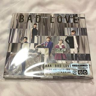 トリプルエー(AAA)のAAA BAD LOVE CD+DVD(ポップス/ロック(邦楽))