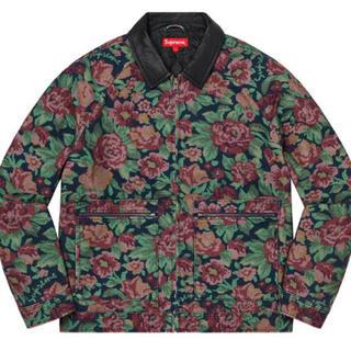 Supreme - supreme Leather Collar Work Jacket M