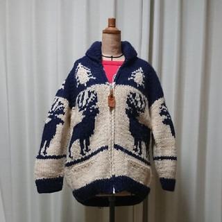 Canadian sweater カウチンセーター(ニット/セーター)