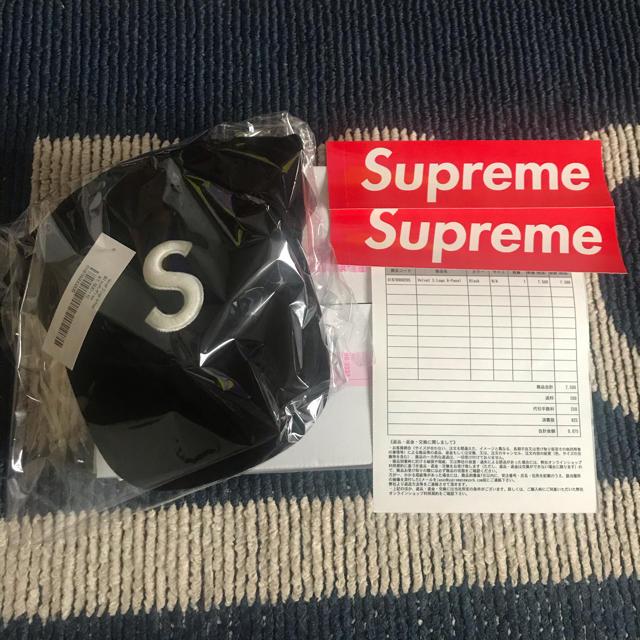 Supreme(シュプリーム)のSupreme Velvet S Logo 6-Panel メンズの帽子(キャップ)の商品写真