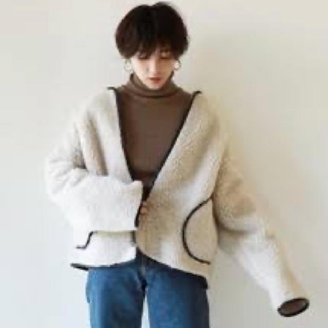 TODAYFUL(トゥデイフル)のボアブルゾン レディースのジャケット/アウター(ブルゾン)の商品写真